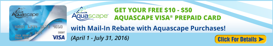 CAT Aquascape Mail-In Rebate 2