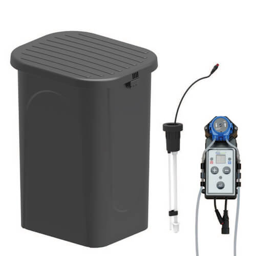 EasyPro Eco-Series lightweight basin with bench grating