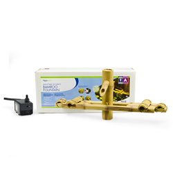 Aquascape Adjustable Pouring Bamboo Fountain w/pump