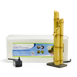 Aquascape Pouring Three-Tier Bamboo Fountain w/pump