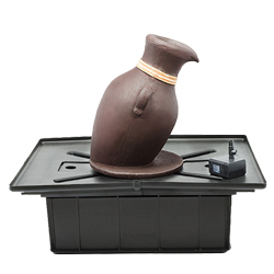 Aquascape European Terra Cotta Leaning Vase Fountain Kit