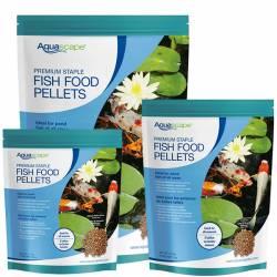 Aquascape Premium Staple Fish Food Mixed
