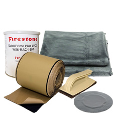 Pond Liners & Underlayment, 45mil EPDM, Firestone, Seaming Tape