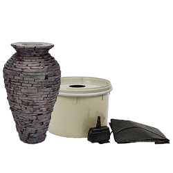 Aquascape Small Slate Urn Fountain Kit