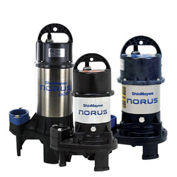 Shinmaywa Norus Stainless Steel Submersible Pump
