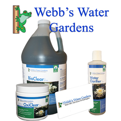 All Webbs Water Gardens Products