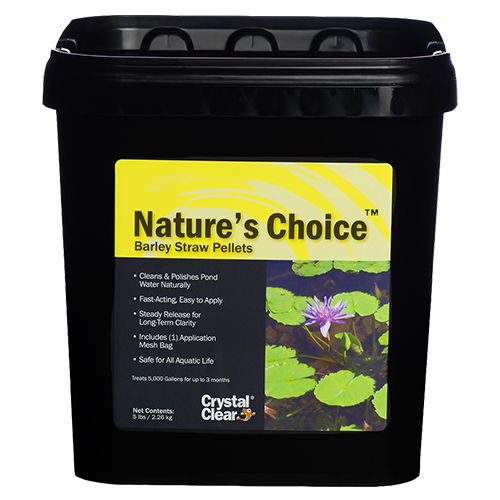 CrystalClear Nature's Choice Barley Pellets 5 lbs (MPN CC067-5)