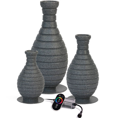 Atlantic 3 piece Color Changing Vase Kit (MPN FTN CCVX3)