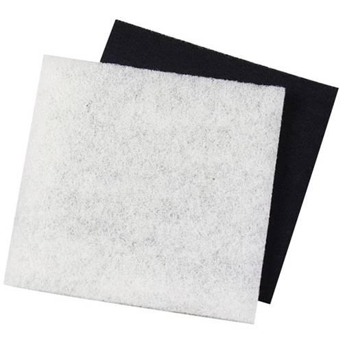Pondmaster 1 polyester filter 1 carbon coated filter for Charcoal pond filter