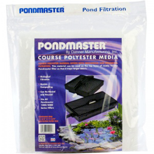 Pondmaster coarse replacement filter media 12 x 12 for Best pond filter media