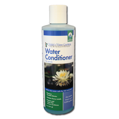 Buy 1 Get 1 Free Webb's Water Gardens Water Conditioner for Ponds 8 oz