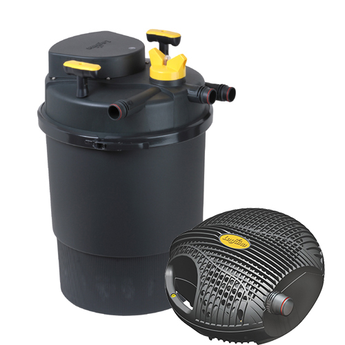 New laguna clearflo 3000 uvc pond filter pump kit pt1743 for Pond filter kits with pump
