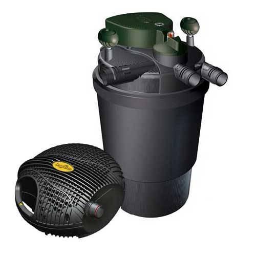 Laguna clearflo 2100 pump filter combo koi pond pt264 for Pond filter pump combo