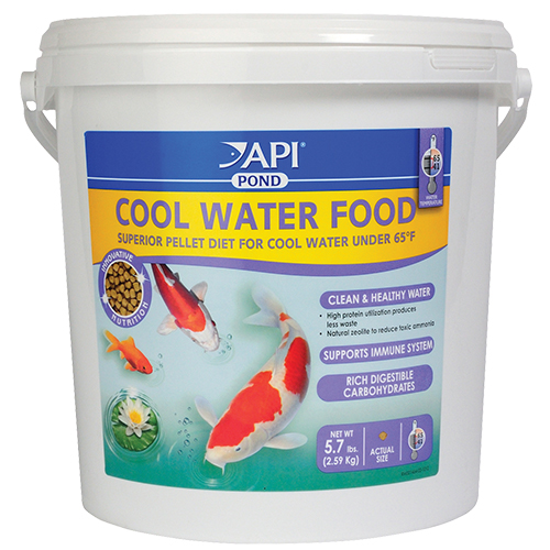 API Pond Cool Water Fish Food 5.7 lbs (MPN 197E)