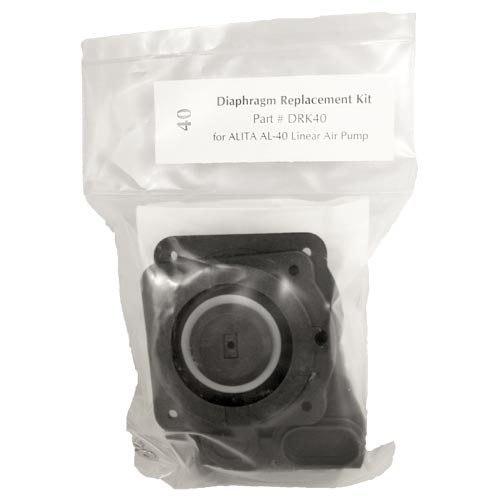 Alita Diaphragm Kit for AL-40 w/ Replacement air filter (MPN DRK40)
