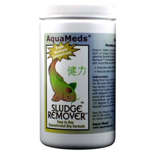 AquaMeds Sludge Remover 4 lbs (case of two 2 lb containers)