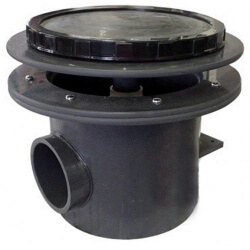"Aquadyne Rhino II Bottom Drain w/ air bladder diffuser for 4"" pipe (MPN RH2-A)"