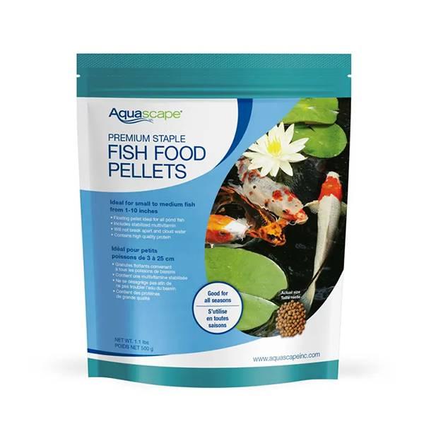 Aquascape Premium Staple Fish Food Small Pellet 1 1 Lb Mpn 98867 Buy 2 Get 1 Free Best