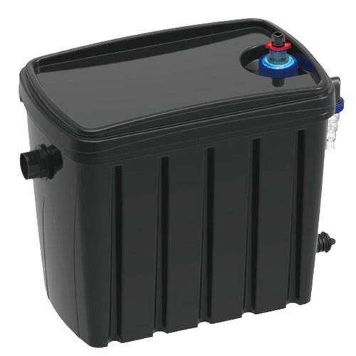 Matala biosteps 10 filter with 9watt uv mpn bstpwc for Best pond filter media