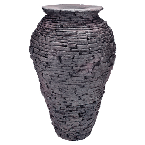 Aquascape Large Stacked Slate Urn Fountain (MPN 98940)