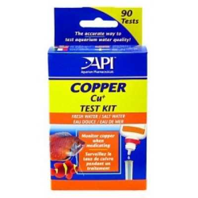 API Pond Copper Test Kit 90 Tests (MPN 65L)