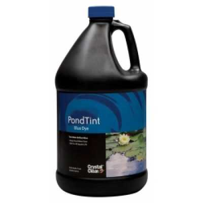 CrystalClear Pond Tint Blue Pond Dye 1 gallon