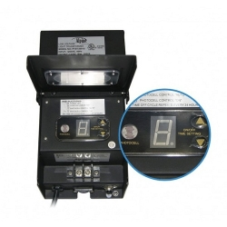 Alpine 300w transformer with timer and photocell