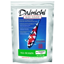 Dainichi All Season Koi Food, Medium Pellet 11 lbs