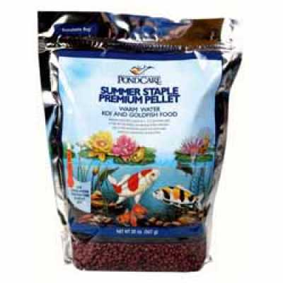 Pond Care Summer Staple Fish Food 20 oz