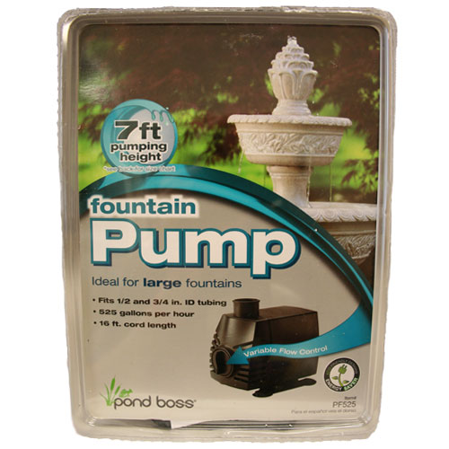 Pond Boss 285-525 GPH Fountain Pump (MPN PF525)