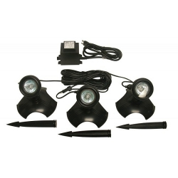 Alpine (PLD320T) Set of 3-20 watt lights with trans