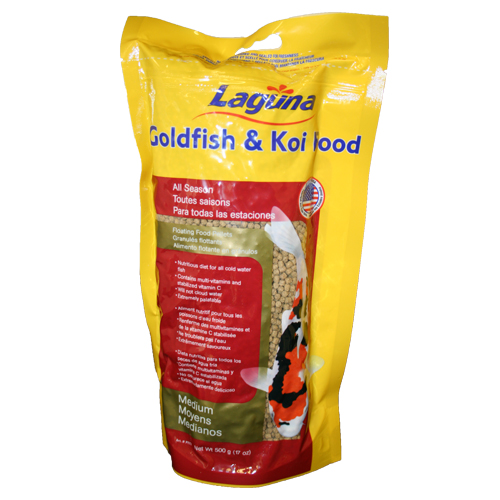 Laguna All Season Floating Fish Food Medium 17.6 oz