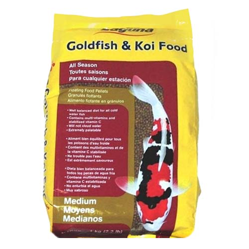 Laguna All Season Floating Fish Food Medium 2.2 lb