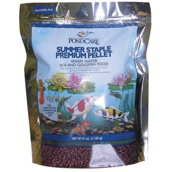 Pond Care Summer Staple Fish Food 41 oz.