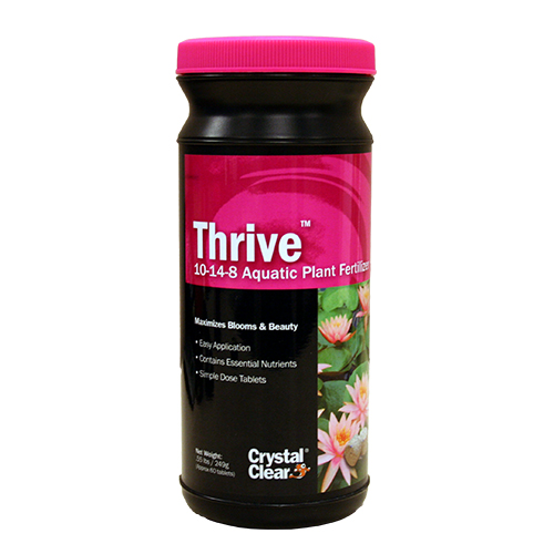 CrystalClear Thrive Aquatic Plant Fertilizer 60 Tablets (MPN CC017-60)