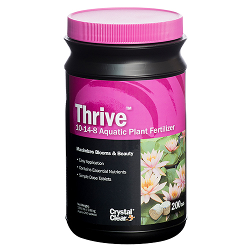 CrystalClear Thrive Aquatic Plant Fertilizer 200 Tablets (MPN CC017-200)
