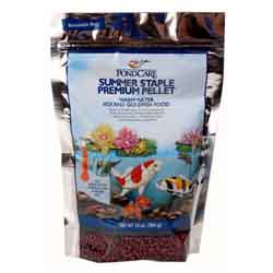 Pond Care Summer Staple Fish Food 10 oz