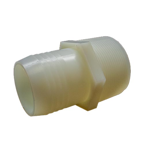 "Hose Adapter 2"" MPT x 2"" Barb"
