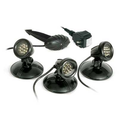 Atlantic 3 Pack LED Warm White Spotlights (MPN AWGLED3)