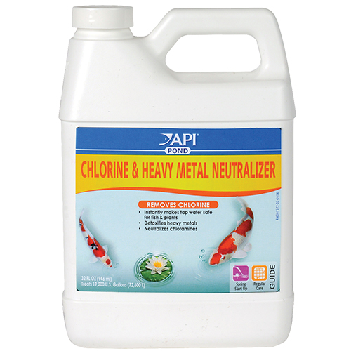 Pond Care Chlorine & Heavy Metal Neutralizer 32 oz.