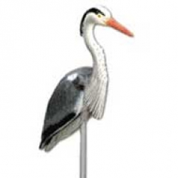 "Laguna Heron 29"" x 39"" with 21"" stake"