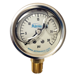 Airmax Liquid Filled Pressure Guage (MPN 490272)