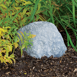 "10403 - Pond Logic Grey Mini Boulder w/ Vent Holes 10"" x 8"" x 5"" H (MPN 510403-G)"