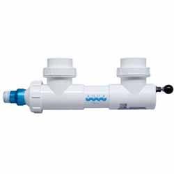"""Aqua Ultraviolet 8 watt UV, 3/4"""" ports, unions, w/wiper (MPN A00004)"""