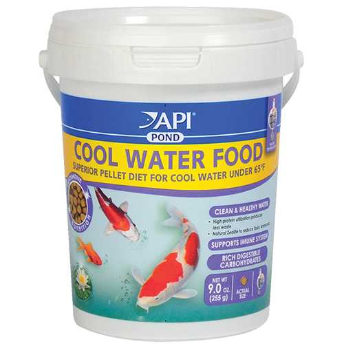 API Pond Cool Water Fish Food 9 oz (MPN 197A)