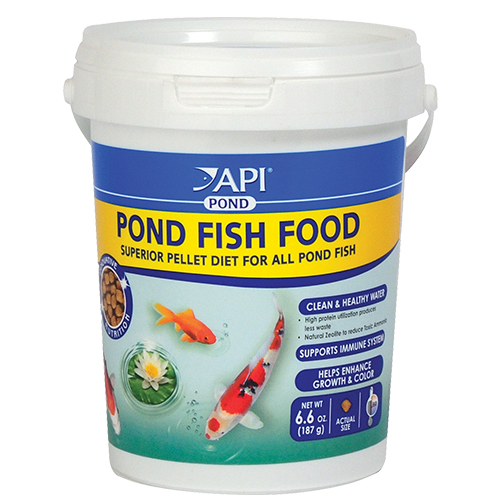 API Pond Fish Food 6.6 oz (MPN 198A)