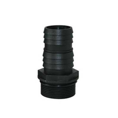 "PondMaster 1 1/2"" MPT x1 1/2"" Stepped Barb fitting"