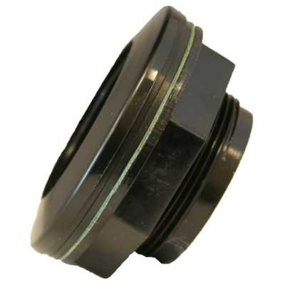 Atlantic Poly Bulkhead Fitting 1 1/2""