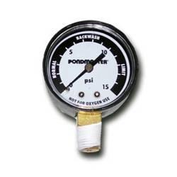 PondMaster BioMatrix Pressure Gauge