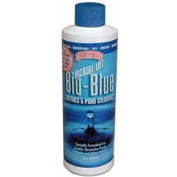 Microbe-Lift Bio-Blue Enzymes & Pond Colorant 8 oz